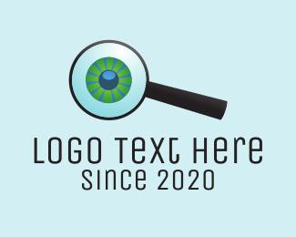 Detective - Eye Search logo design