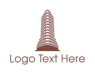 New York - New York Flatiron logo design