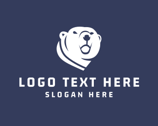 Animal Shelter - Polar Bear logo design