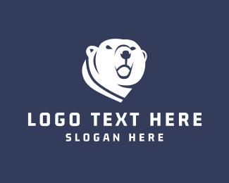 Winter - Polar Bear logo design