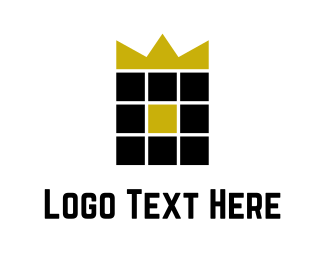 Prince - Golden Crown logo design