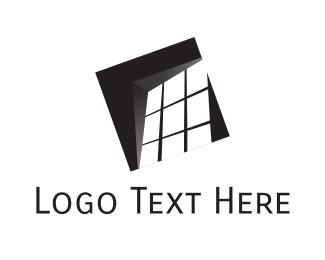 Window - Black Window logo design