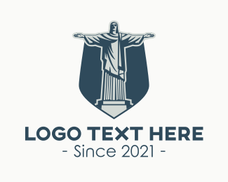 Landmark - Christ The Redeemer Landmark logo design