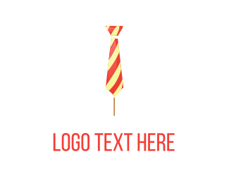 Candy Cane - Sweet Tie logo design