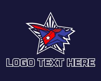 Veterans - American Aircraft logo design