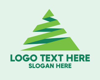 Technology - Zizag Ribbon Triangle  logo design