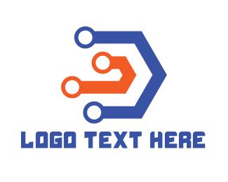 """Techy D"" by LogoBrainstorm"