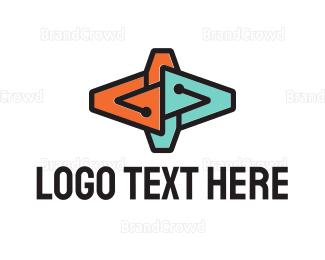 Computing - Tech Shape logo design