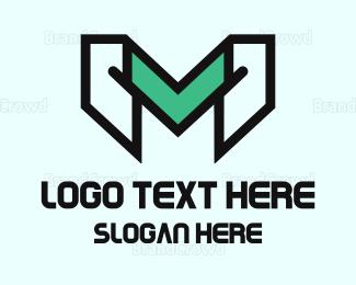 Gaming - Gaming Letter M logo design