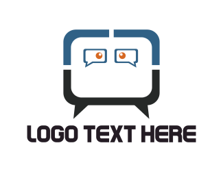 Advice - Chat Face logo design