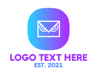Messaging - Messaging Owl App logo design
