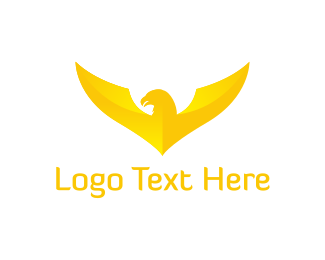 Bald Eagle - Gold Eagle logo design