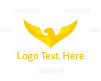 Post Office - Gold Eagle logo design