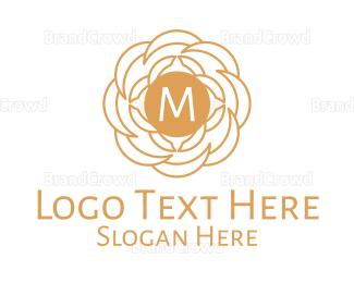 Busiess - Luxurious Radial Mandala Lettermark logo design