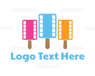 Frozen - Popsicle Reel logo design