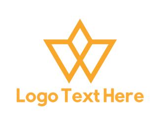 Sleek - Crown Letter W logo design
