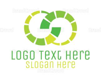 Energy - Green Infinity Business logo design