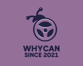 Bug Bug Driver logo design