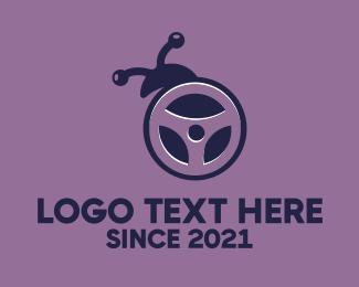 Driver - Bug Driver logo design