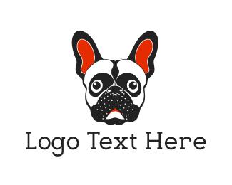 Pet Sitter - French Bulldog logo design