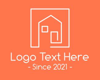 Online Listing - Minimalist Housing Property logo design