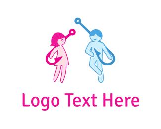 Erotic - Human Hooks logo design