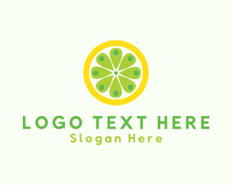Yellow Lemon - Lemon Place logo design