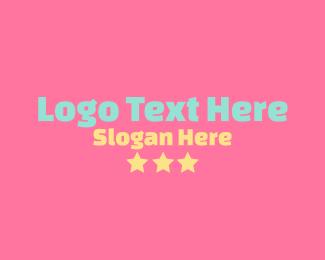 Word - Simple Cute Nursery Wordmark logo design
