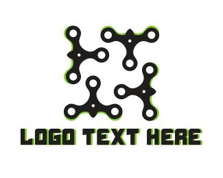 Stream - Stream Drone logo design