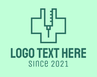 Doctor - Vaccine Health Cross logo design
