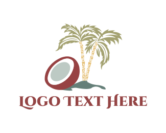 Coconut Tree - Coconut Tree logo design