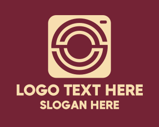 Instagram - Maze Instant Camera logo design