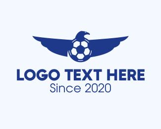 Fc - Eagle Soccer Team logo design