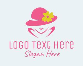 Fashion - Women's Fashion Hat logo design