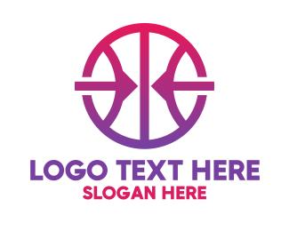 Mvp - Arrow Basketball logo design