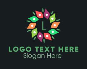 Bouquet - Flower Bouquet Lettermark logo design
