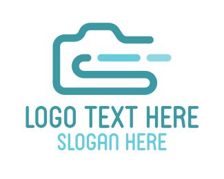 Dslr - Photography Clip logo design