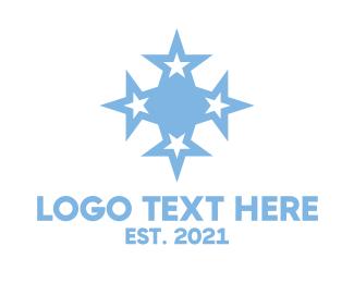 Oceania - Micronesia Star Symbol logo design