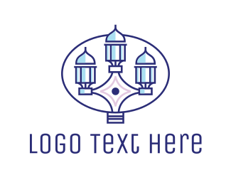 Furniture Store - Abstract Indian Tower logo design