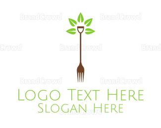 Recipe - Organic Farm Food logo design