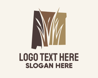 Travel - New Mexico Marsh Map logo design