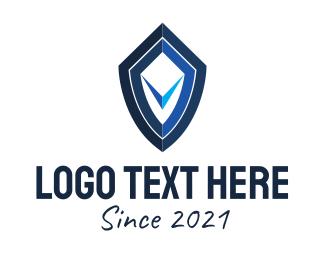 Insurance - Insurance Shield Letter V logo design