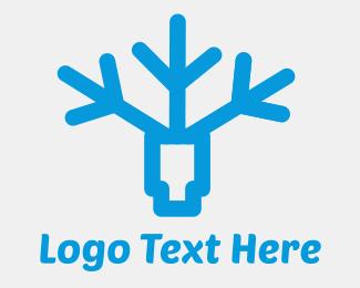 Frozen - Frostag logo design