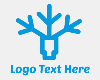 Snow - Frostag logo design