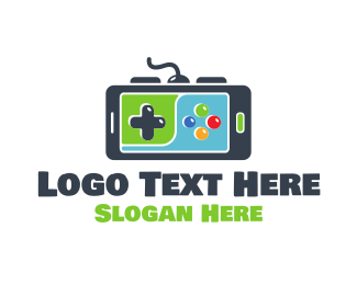 Game Developer - Mobile Gaming logo design