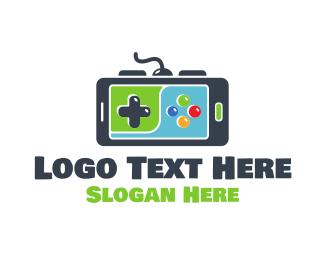 Game Developer - Mobile Gaming logo design