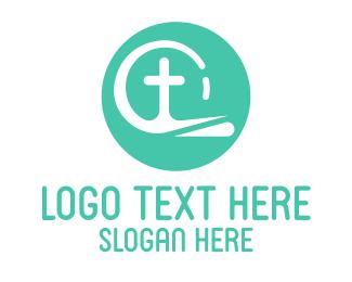 Faith - Religious Christian Cross  logo design