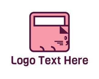 Basket - Bag Cat logo design