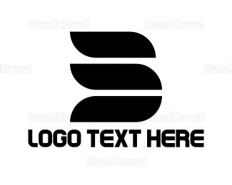 Letter B - Abstract Letter B logo design