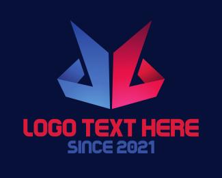 Folding - Paper Peaks logo design